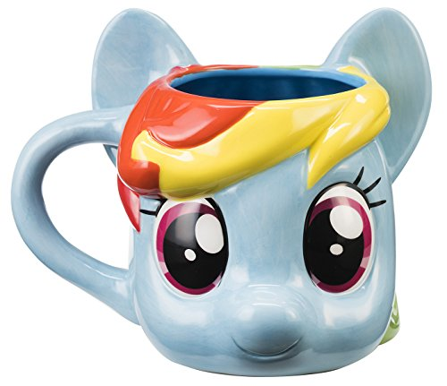 Pony Mug (My Little Pony Rainbow Dash Sculpted Ceramic Mug 42001)