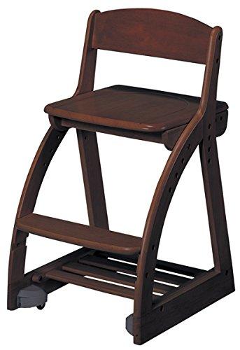 コイズミファニテック 学習椅子 ブラウン サイズ:W41.3×D49.5~54×H74.5㎝ SH/42454851㎝ CDC-765WT B07BMKRYQD