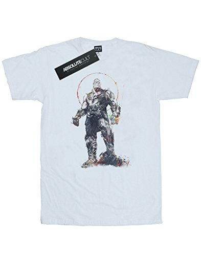 shirt Infinity War T Thanos Blanc Avengers Homme Absolute Sketch Cult xqwpZ8T