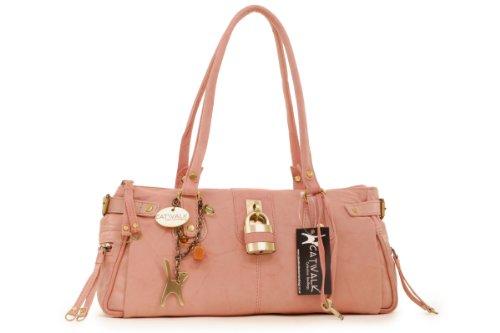 Handbag Catwalk Pink Collection Leather Padlock Collection Chancery Catwalk Leather OfHYRwfzq4