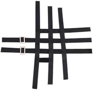 for 09-20 Yamaha YFZ450R GYTR Replacement Nerf Bar Webbing Black