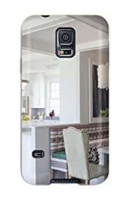 New Eclectic Kitchen With Banquette And Pendant Light Tpu Skin Case Compatible With Galaxy S5
