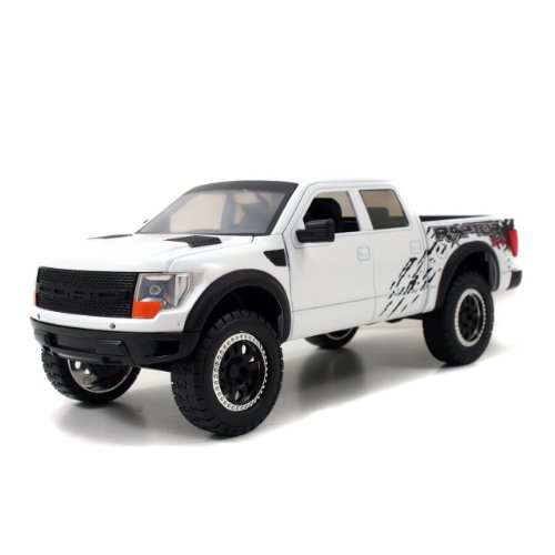 2011 Ford F-150 SVT Raptor 1:24 Scale (White)