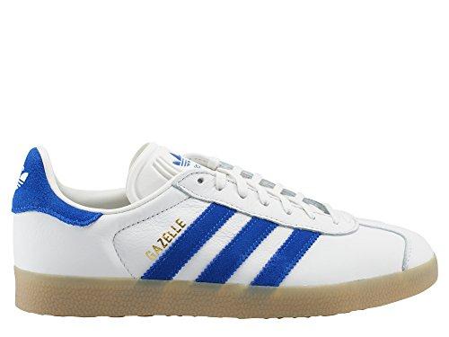 Originals Homme Mode Basket Gazelle bleu blanc adidas R81dqInw1
