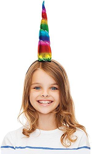 Rainbow Unicorn Headbands - 12 ct (Horn 12 Piece)