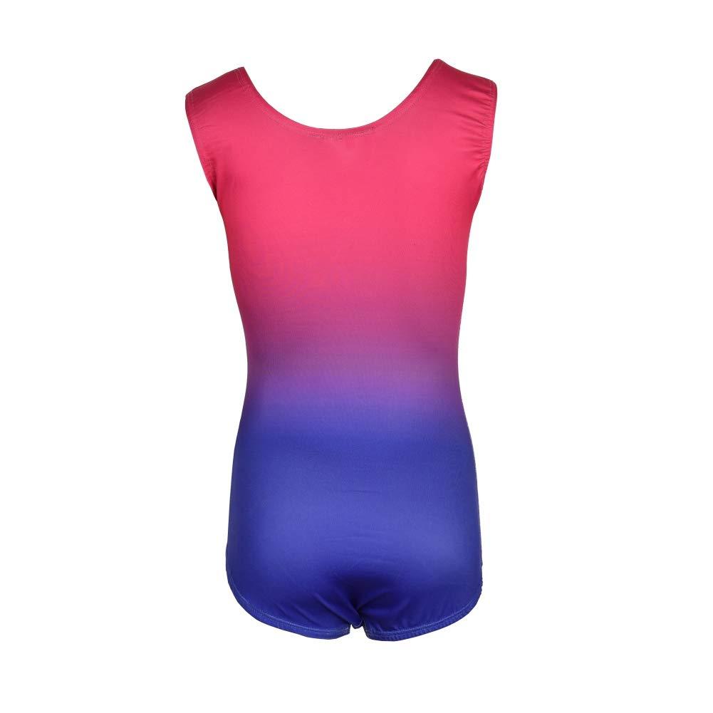 567638904b63 XIYAO Childrens Sleeveless Dance Outfit-Ballet Leotards Skirt ...