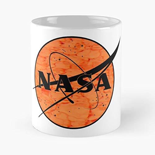 Nasa Space Retro Vintage Old Add Logo Galaxy Rocket Satellite Stars Planets - Best 11 oz Coffee Mug Cheap Gift