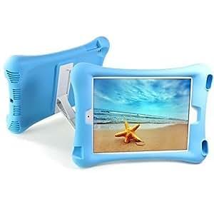 Silicona , Negro/Verde/Azul/Rosado/Orange ) - de Diseño Especial para Manzana iPad Air ( Color : Orange )