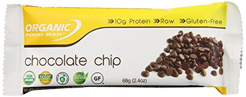 Organic Food Bar Chocolate Chip, 2.4 Ounce (Pack of 12)