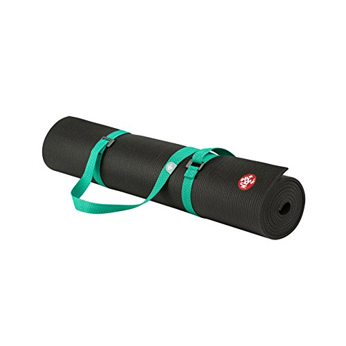 The Combo Yoga Mat 1 5mm Luxurious Non Slip Foldable: Manduka Mat Carrier Unisex Style : Go Move-SEAFOAM Size