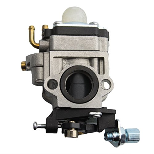 (GOOFIT 15mm Carburetor for 47cc 49cc 2 Stroke Mini Pocket Bike Quad Chopper Scooter)