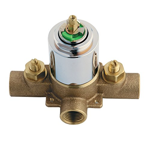 Kingston Brass KB651V Chatham Valve Only for KB631 KB651 KB1631 KB1651, Polished Chrome by Kingston Brass
