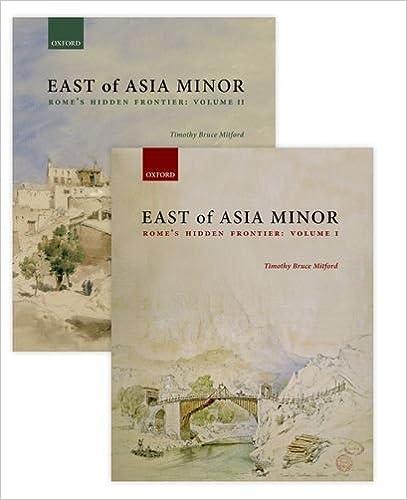 Book East of Asia Minor: Rome's Hidden Frontier