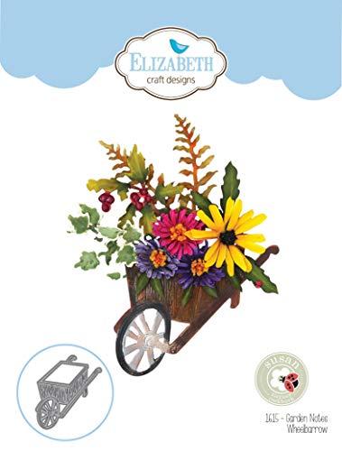 Elizabeth Craft Designs EC1615 Elizabeth Craft Metal Die by Susan's Club Notes-Garden Wheelbarrow ()