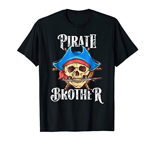 Pirate Brother Shirt, Matching Halloween Family