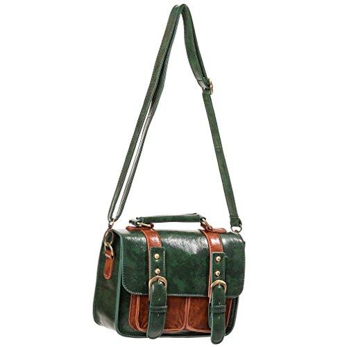 Banned - Bolso al hombro para mujer Verde verde talla única