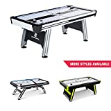 MD Sports Air Hockey Table for Adults and Kids, with LED Lights