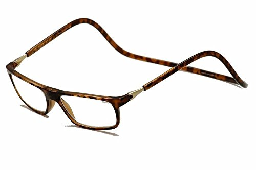 (CliC Executive Magnetic Reading Glasses - Tortoise, +2.50 Magnification)