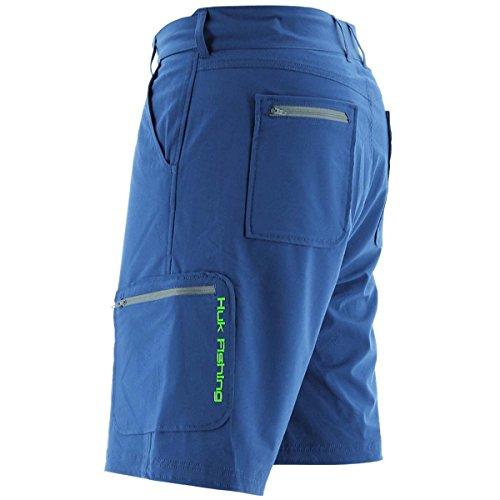 Huk Mens Next Level 10.5 Shorts Blu Scuro