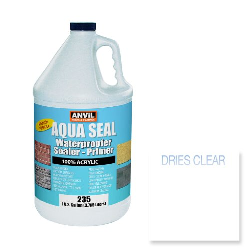 Anvil Aqua Seal Waterproofer Bonding Primer Acrylic Clear Pe