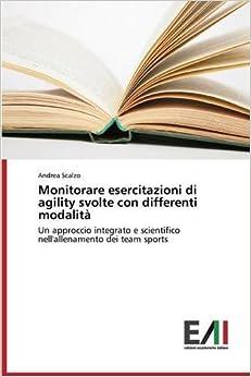 Book Monitorare esercitazioni di agility svolte con differenti modalità