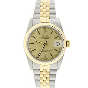 Rolex Datejust 31mm automatic-self-wind womens Watch 68273 (Certified Pre-owned)