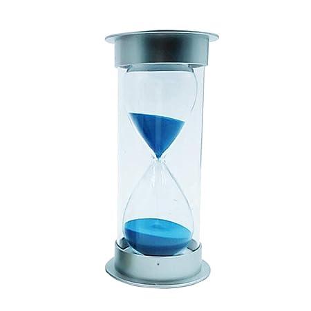 FLAMEER 45 Minuten Sandglass Sanduhr Haus Dekoration Küche Timer - Blau