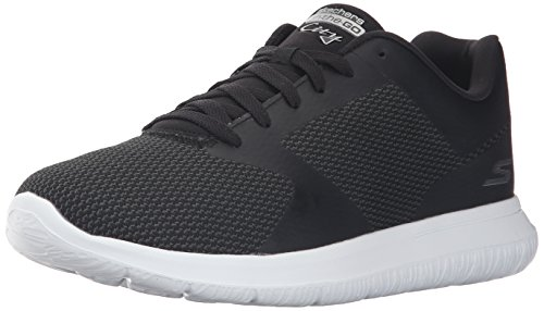 Skechers Herren On-The-Go City Echo Sneakers, Schwarz (Bkw), 41.5
