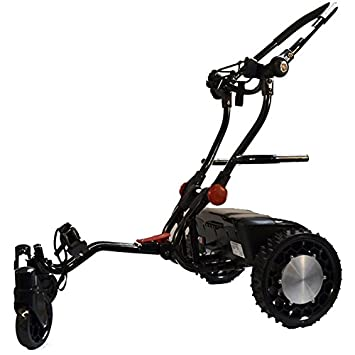 FTR Caddytrek R2 Black Robotic Electric Golf Cart Caddy Trek