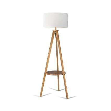 Lámpara de Madera del trípode del Estilo Moderno Simple con ...