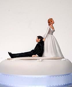 "Wedding Acrylics - Adorno para tartas de boda, diseño de texto en alemán ""Jetzt hab ich dich"""
