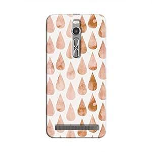 Cover It Up - Brown drops Zenfone 2 Hard case