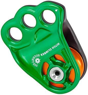 Green DMM Hitch Climber Eccentric