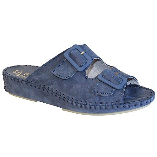 outlet new La Plume Jen Womens Sandals Denim low shipping for sale clearance outlet sale for sale grATmzDT6