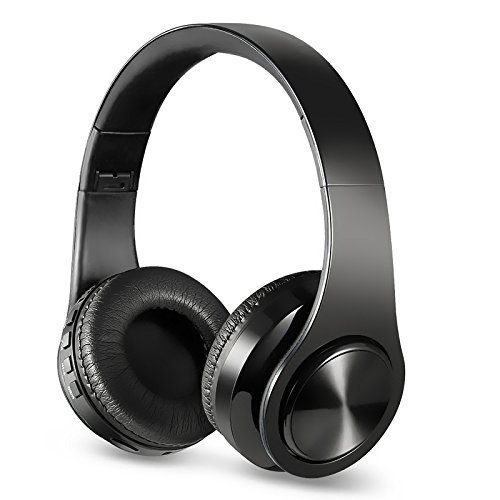 Headphones Over Ear, Active Noise Cancelling Stereo Headset, Headphone Headset with Microphone for PC/ Cell Phones/TV