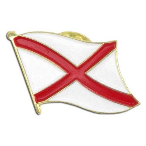 US Flag Store Alabama Flag Lapel Pin