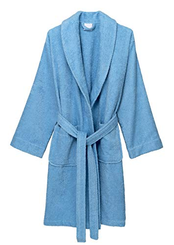- TowelSelections Women's Robe, Turkish Cotton Short Terry Bathrobe X-Large Angel Falls
