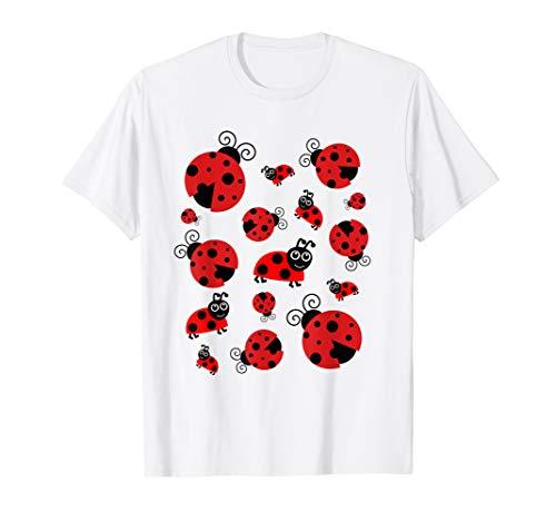 - Adorable Ladybugs Everywhere T-shirt Women, Girls, Kids