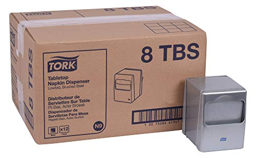 Tork 8TBS Lowfold Tabletop Napkin Dispenser, 5.5