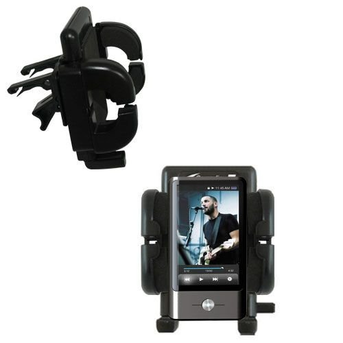 Vent Swivel Car Auto Holder Mount compatible with the Coby MP837 Touchscreen Video MP3 Player