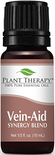 Plant Therapy Vein Aid Synergy Essential Oil Blend. 100% Pur