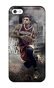 5/5s Scratch-proof Protection For Iphone/ Hot Houston Rockets Basketball Nba (45) Phone Case