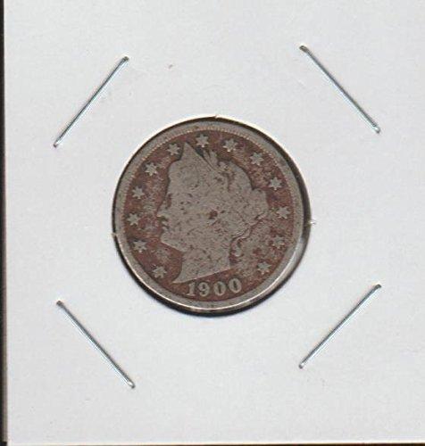"1900 Liberty Head or ""V"" (1883-1913) Nickel Very Good"