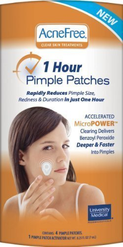 Acnefree 1 hour pimple patch reviews.