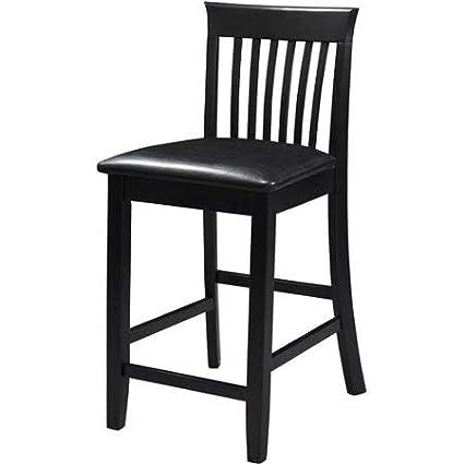 Fine Linon 24 Torino Craftsman Counter Stool Black Frankydiablos Diy Chair Ideas Frankydiabloscom
