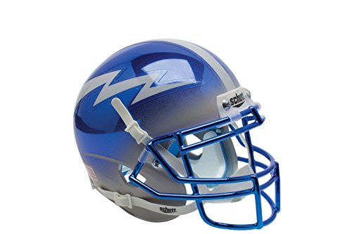 NCAA Air Force Falcons US Blue/Grey Replica Helmet, One Size by Schutt