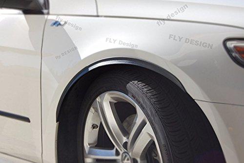 Car-Tuning24 54720601 f/ü r Tuning tuning felgen 2x Radlauf Verbreiterung CARBON Kotfl/ü gel Leisten