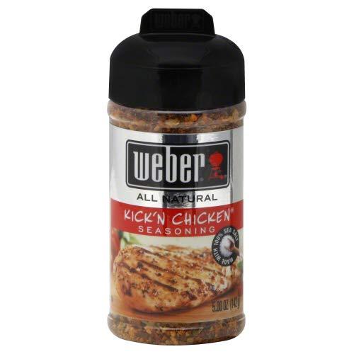- Weber Kick'n Chicken Seasoning (5.5 oz) 2 Pack