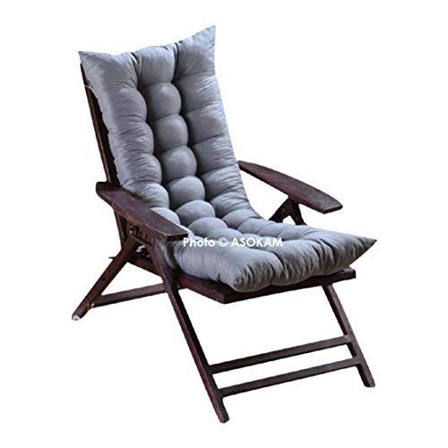 ASOKAM BAZAAR's Premium Microfibre Soft Home Cotton Cushion Long Chair Pad Cushion for Indoor/Outdoor Home Office Garden…