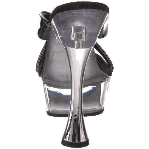 Sandal Patent 405r Platform Pleaser Donna Sweet Black 0wXtqcFq